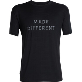 Icebreaker Tech Lite Made Different - T-shirt manches courtes Homme - noir